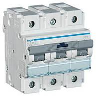 Автоматический выключатель Hager 3П 100А тип С HLF390S