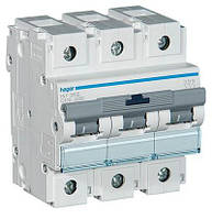 Автоматичний вимикач Hager 3П 100А тип З HLF390S