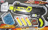 Пистолет гелевые и мягкие пули, механический