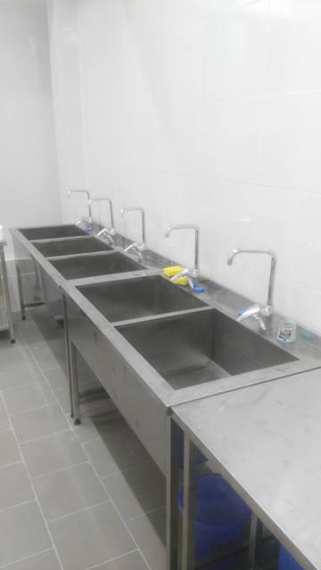 Ванны моечные