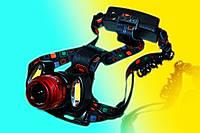 Фонарь налобный мощный Police BL-2118 T6 +2XPE (для рыбаков)