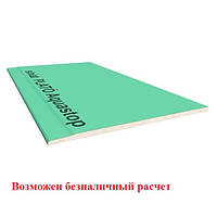 Влагостойкий Гипсокартон ЛГК PLATO-Siniat Vlagastop 12.5 мм (1,2 х 2,5)( 54 лс/в пал) (Plato)