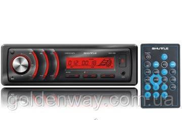 Автомагнитола Shuttle SUD-386 USB/SD 1 Din Black/Red