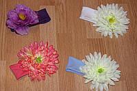 Повязка с цветком, фото 1