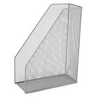 Лоток вертикальный Axent 2120-A 100x250x320мм металл, серебряный