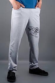 Мужские спортивные штаны Шерон, цвет серый / размерный ряд 46,48,50,52,54