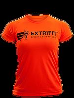 Футболки женские Extrifit футболка оранжевая