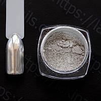 Зеркальная втирка хром (серебро) + аппликатор