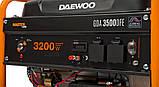 Газовый / бензиновый генератор DAEWOO GDA 3500DFE, фото 4