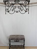 Набор кованой мебели для прихожей - 038