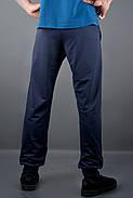 Мужские спортивные штаны с накаткой Рико, цвет синий / размерный ряд 46,48,50,52,54, фото 3