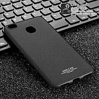 Чехол накладка для Xiaomi Redmi 4X силиконовый ультратонкий + защитная пленка, IMAK, черный