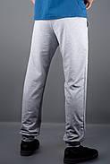 Мужские спортивные штаны с накаткой Рико, цвет серый / размерный ряд 46,48,50,52,54, фото 3