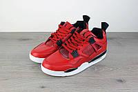 Кроссовки мужские Nike Air Jordan 4 Retro 18033 красные