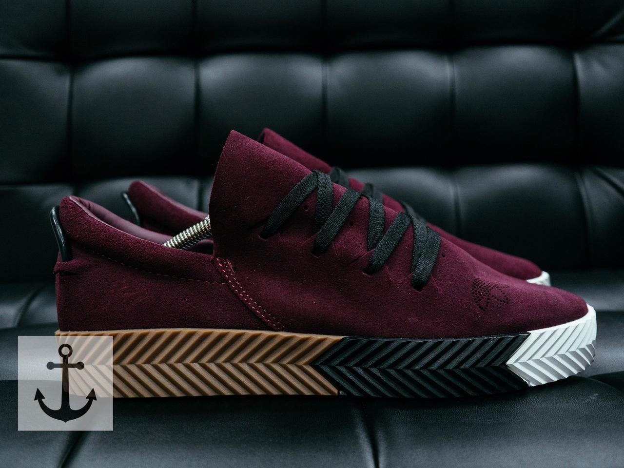 Кроссовки Adidas Wang (burgundy)  продажа, цена в Виннице. кроссовки ... 8d7a43123a0