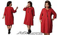 Платье женское большого размера недорого в интернет-магазине Minova ( р. 52,54,56 )