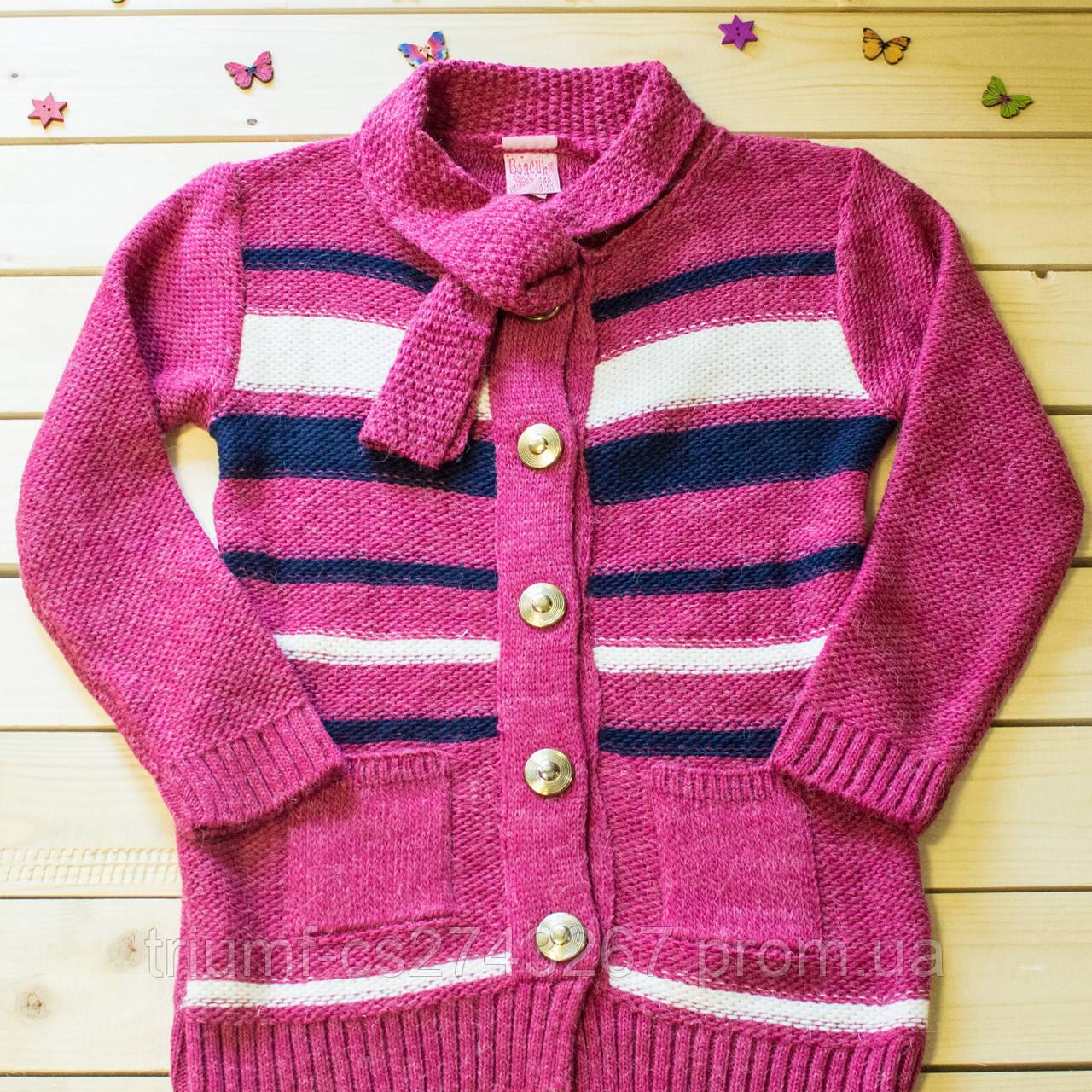 """Красивый вязаный кардиган для девочки на 6-10 лет  -  Интернет -магазин """"Tinstyle""""-  модная креативная молодежная одежда.Одежда для детей и подростков  в Кривом Роге"""