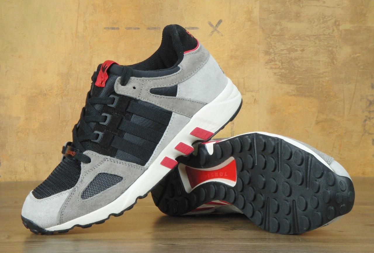 promo code 23845 a470f Кроссовки мужские Adidas EQT Support TORSION 30499 черно-серые - купить по  лучшей цене, от компании из Харькова. Брендовая одежда от интернет-магазина  ...