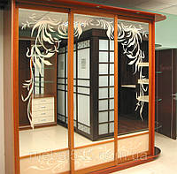 Шкафы с комбинированным фасадом