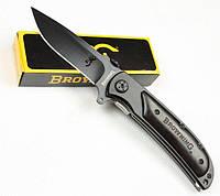 Складной нож Browning 338, черный Сокол, 440 лезвие, охотничьи ножи выживания
