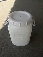 Бидон 30л б/у чистый (с прокладкой)