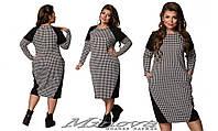 Платье женское французский трикотаж  большого размера 48-54