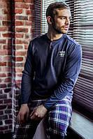 Хлопковый мужской домашний комплект / пижама MNS 447