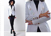 Стильный пиджак (на подкладке)