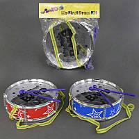 Барабан 666 Е-2 (96) 2 палочки, в кульке