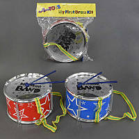Барабан 6610-4 (72) 2 палочки, в кульке