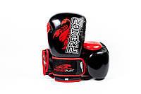 Перчатки боксерские Powerplay 3007 / PU/Scorpio/black 12oz, фото 1