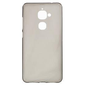 Чехол накладка для LeEco Le 2 силиконовый матовый, серый