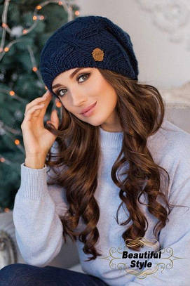 Женская шапка-колпак Канна