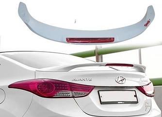 Спойлер тюнинг Hyundai Elantra