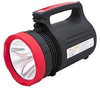 Фонарь Yajia YJ-2886 (1+22SMD LED) свинц.акк 4х5, Зарядное утройство