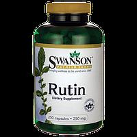Укрепление сердечно-сосудистой системы - Рутин / Rutin, 250 мг 250 капсул