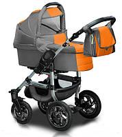 Универсальная коляска 2 в 1 Trans Baby Jumper 39/05 Light Green / Orange
