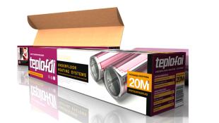 Пленочный теплый пол TEPLOFOL - nano TH - 880-6,3