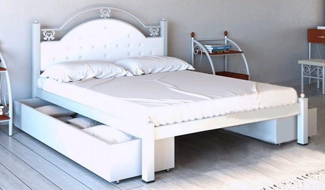 Двуспальная кровать Эсмеральда Металл-Дизайн