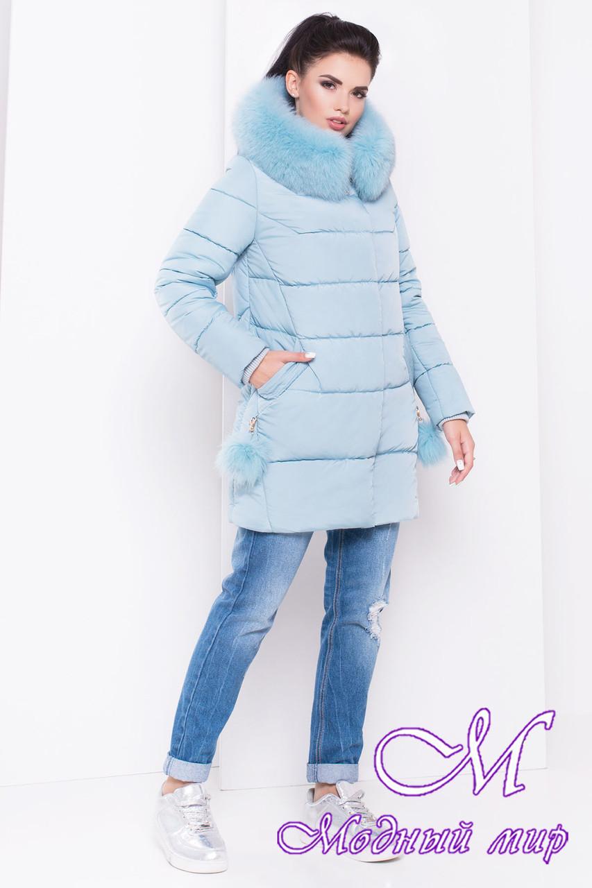 Красивая женская зимняя куртка (р. XS, S, M, L, XL) арт. Ари 16411