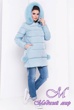 Красивая женская зимняя куртка (р. XS, S, M, L, XL) арт. Ари 16411, фото 2