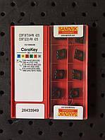 Твердосплавные пластины сменные для резцов CCMT 09T304 PM 4215 SANDVIK