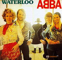 ABBA: Waterloo (LP) (3726)