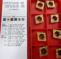 CCMT 09T308-UM 1025 SANDVIK пластина твердосплавная