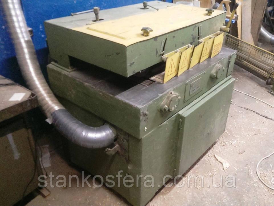Розподільно-рейковий верстат ЦА-2А бо для поздовжнього розпилювання деревини