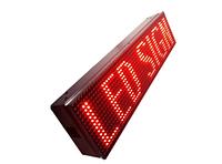 Табло бегущая строка Red 3m*0.4m 25632-84288