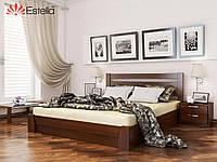 Кровать двуспальная Селена тм Эстелла подъёмный механизм массив бука, 120х200