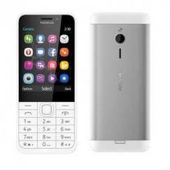 Мобильный телефон NOKIA 230 Dual SIM (серебристый)