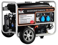 Генератор бензиновый NIK PG3000