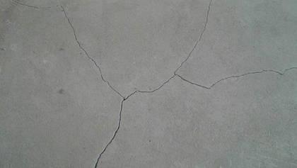 Почему лопается бетон и как этого избежать